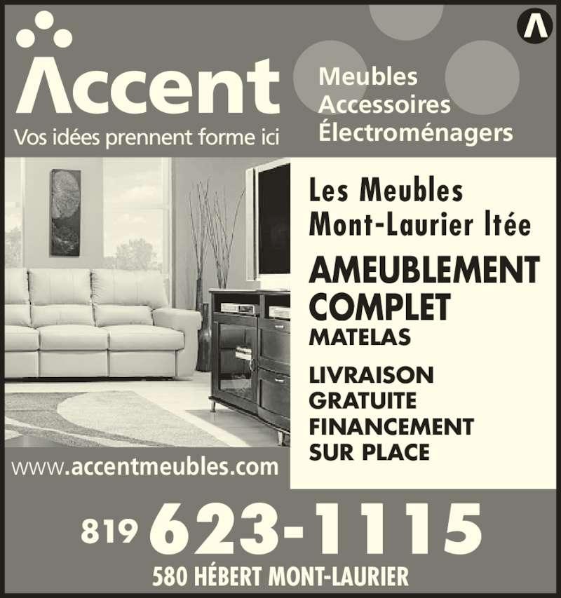 Meubles mont laurier horaire d 39 ouverture 580 rue for Fornirama meuble