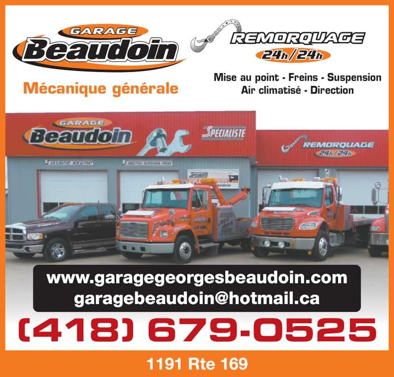 Garage beaudoin georges saint f licien qc 1191 169 for Garage ad st laurent de la plaine