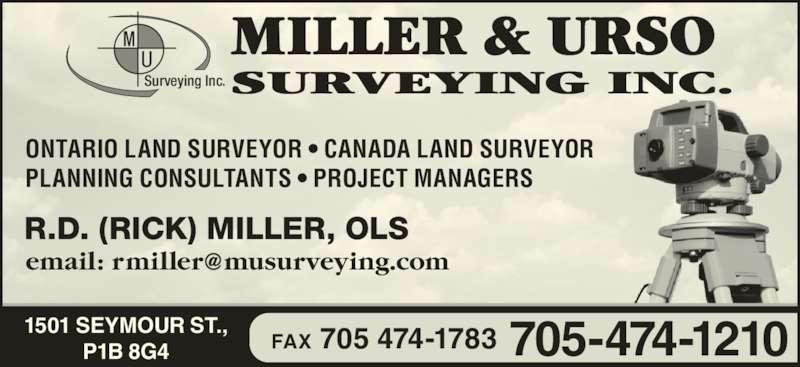 how to become a land surveyor in ontario