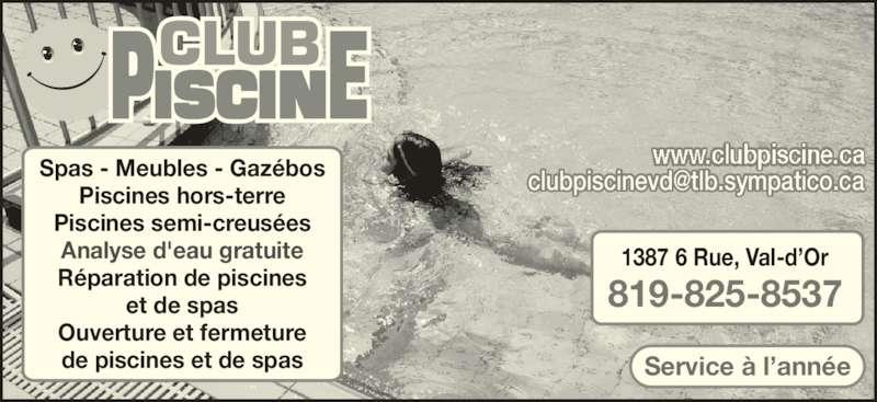 club piscine horaire d 39 ouverture 1387 6e rue val d