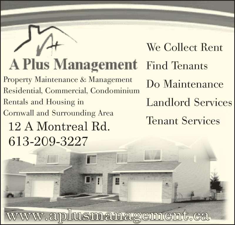 Rental Home Plus: A PLUS Management