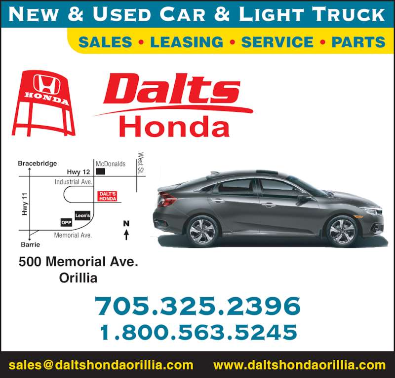 Automobile Dealers Used Cars Barrie Ontario