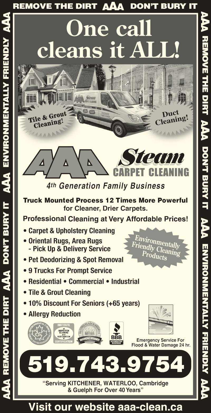 Aaa Steam Carpet Cleaning Ltd Opening Hours 152