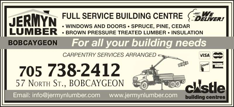 Jermyn Lumber Bobcaygeon On 57 North St Canpages
