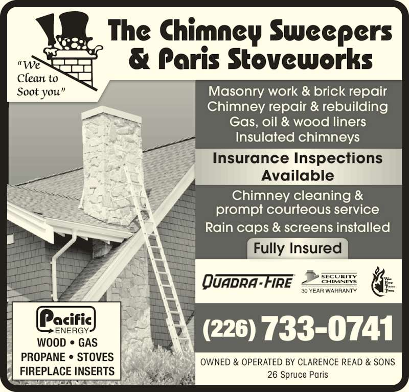 Paris Stove Works Amp Chimney Cleaning Paris On 26