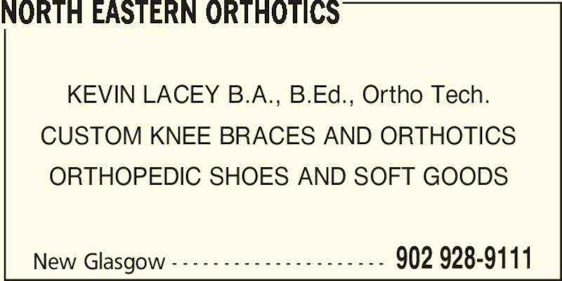 Ads North Eastern Orthotics