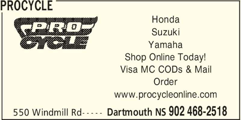 Pro Cycle Dartmouth Yamaha