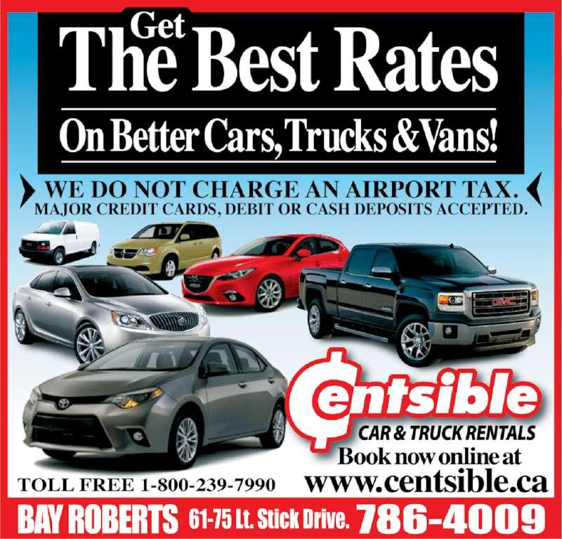Centsible Car & Truck Rentals