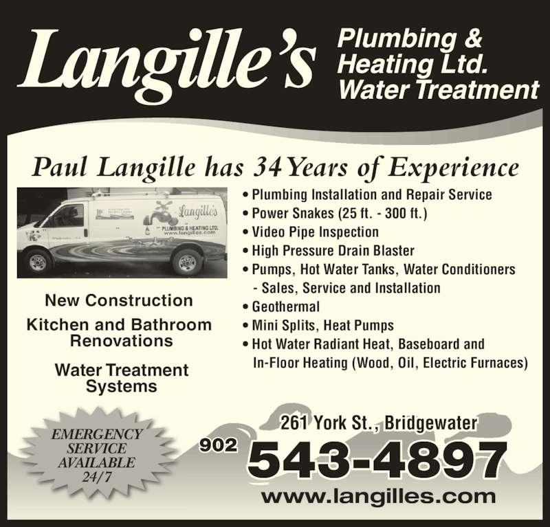 Langille S Plumbing Amp Heating Ltd Opening Hours 261