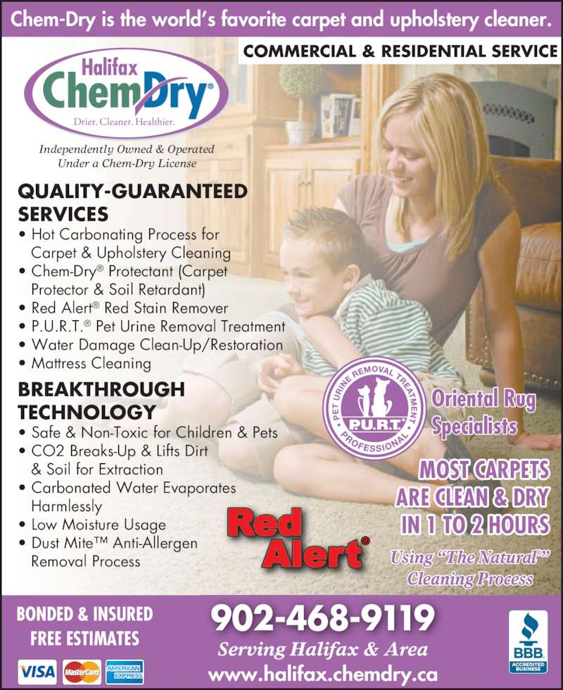 Halifax Chem Dry Opening Hours 367 Windmill Rd