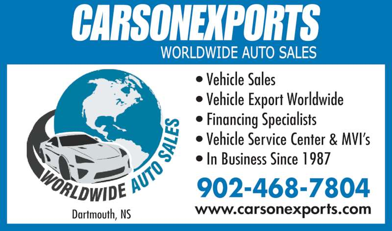 Carson Exports Dartmouth Ns 550 Windmill Rd Canpages
