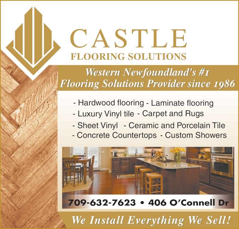 Castle Carpet Ltd Opening Hours 406 OConnell Dr