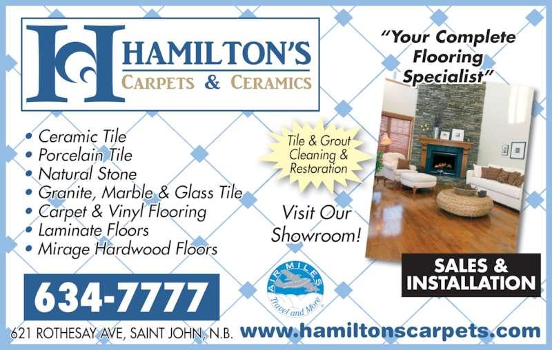 Hamilton S Carpets Amp Ceramics Ltd Saint John Nb 621