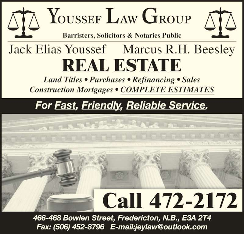 New Brunswick 468: Youssef Law Group