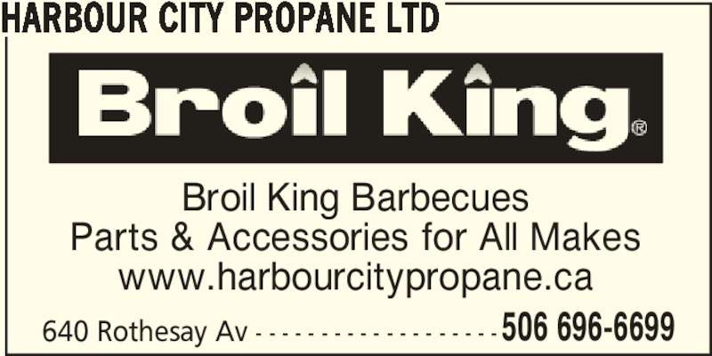 Harbour City Propane Ltd (506-696-6699) - Annonce illustrée======= -