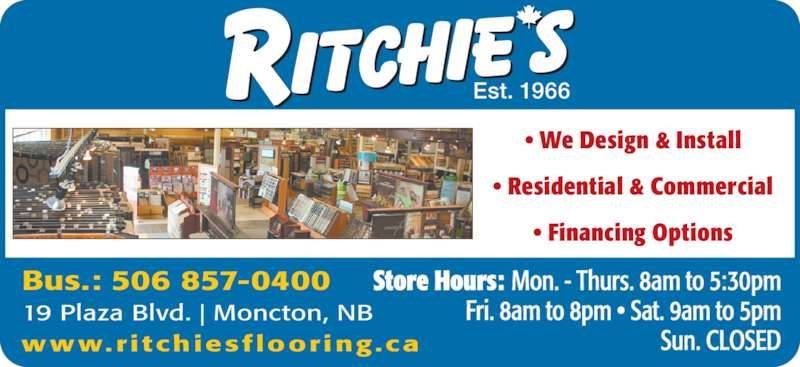 Ritchie S Flooring Warehouse Opening Hours 19 Plaza