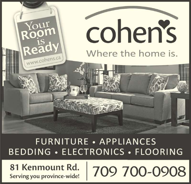 Cohen 39 S Home Furnishings Ltd St John 39 S Nl 81 Kenmount Rd Canpages