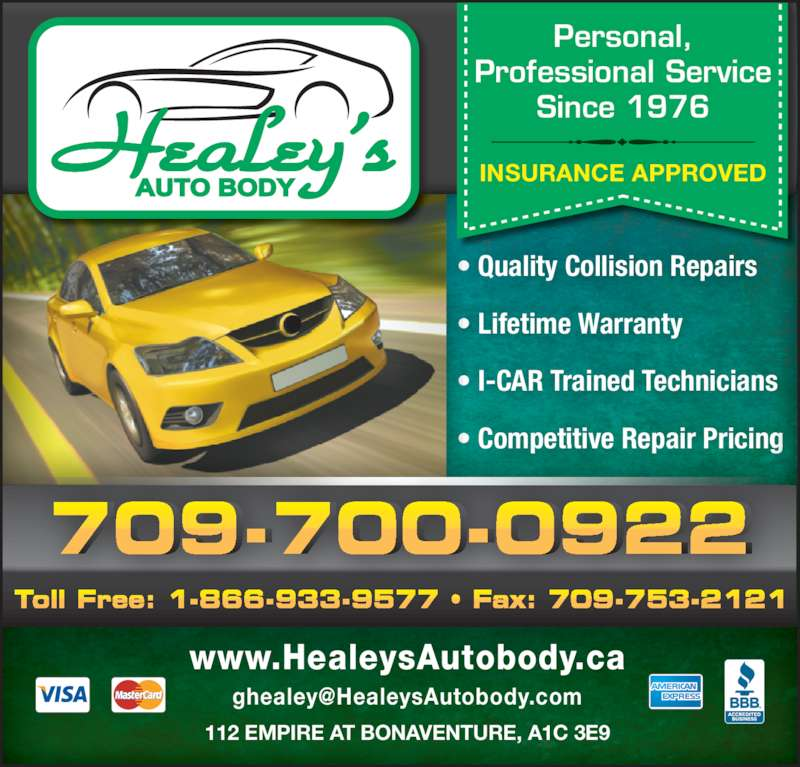 Healey's Auto Body Shop Ltd