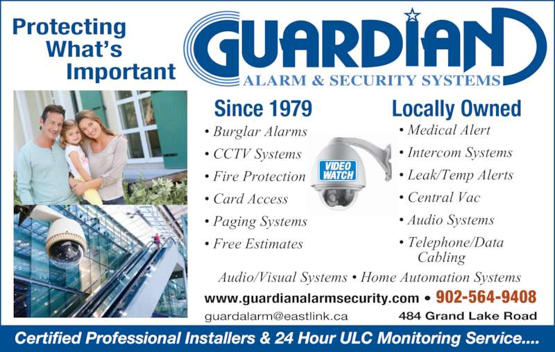 Guardian Alarm Amp Security Systems Sydney Ns 484 Grand