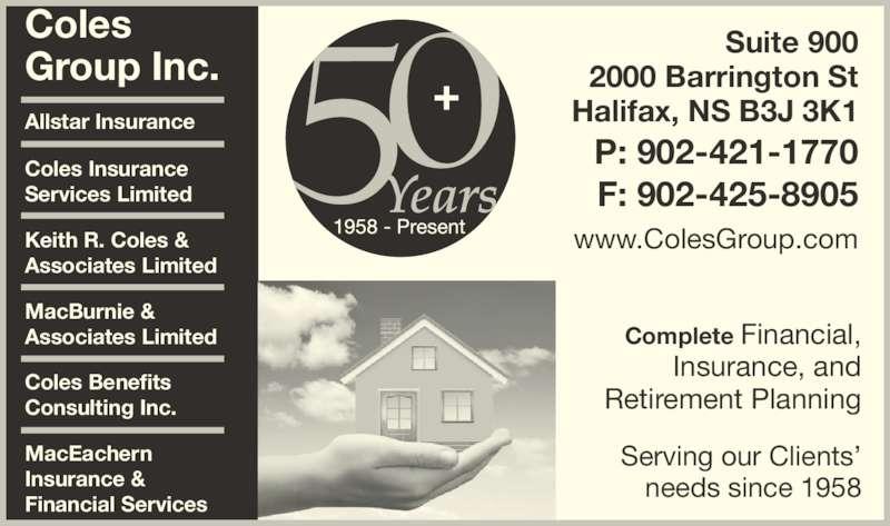 Halifax Financial Group 72