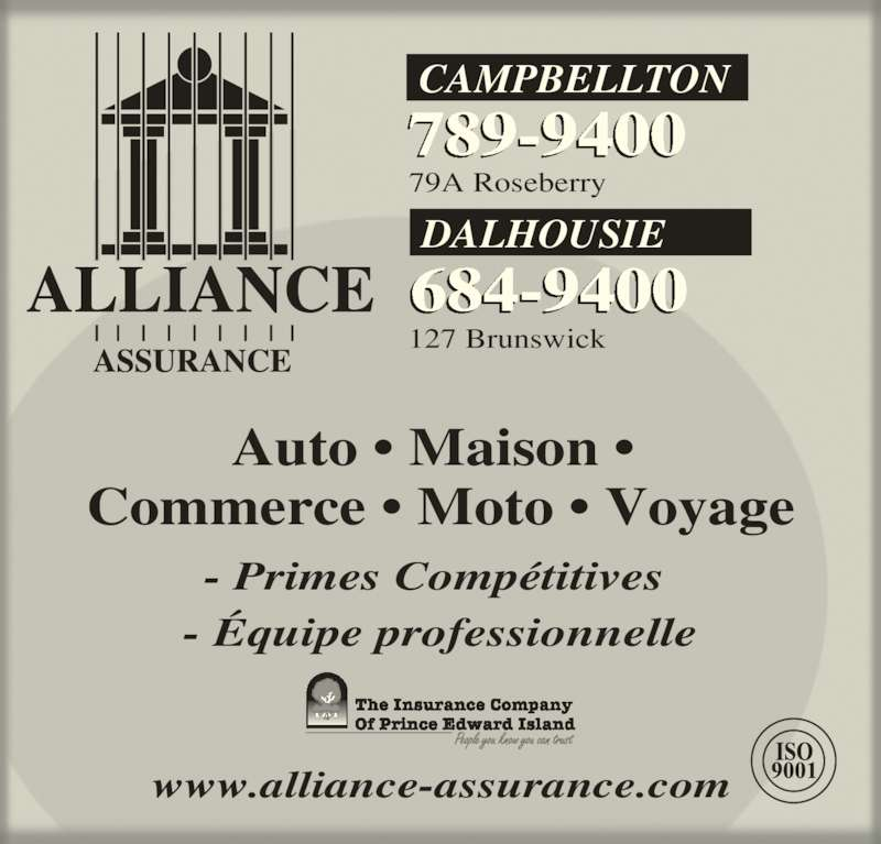 Industrielle alliance horaire d 39 ouverture 127 for Assurance maison industrielle alliance