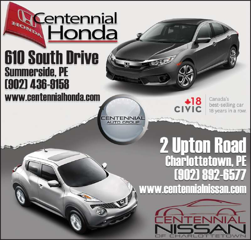 Centennial Honda (902-436-9158) - Display Ad -