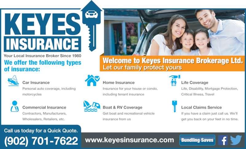 keyes insurance brokerage ltd opening hours 450 36