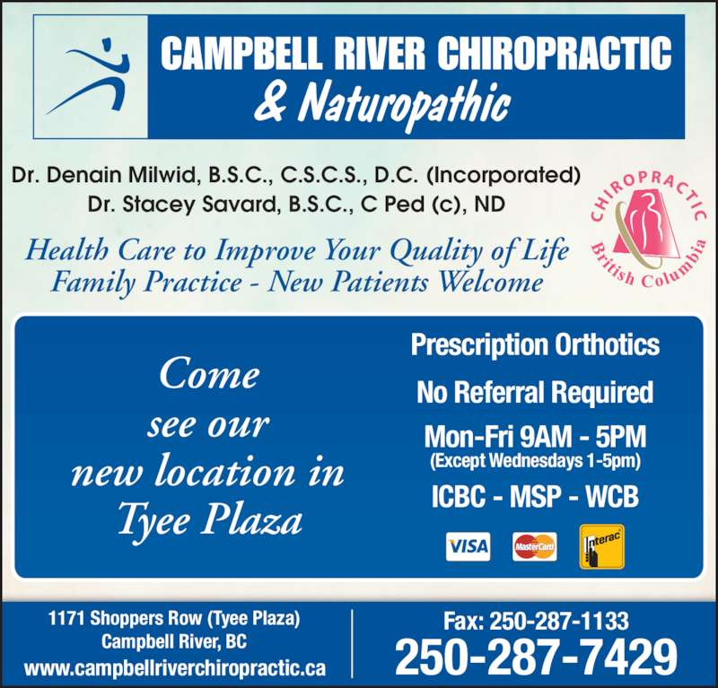 business campbell river massage services