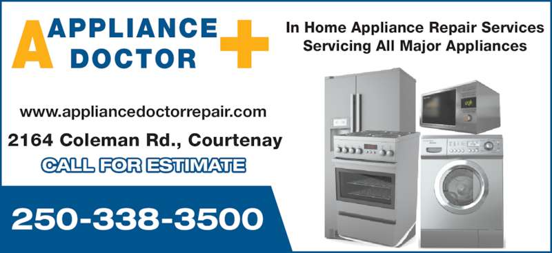 Appliance Doctor Opening Hours 2164 Coleman Rd