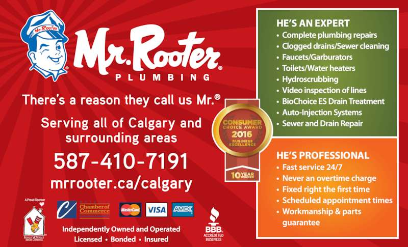 Mr Rooter Plumbing - Calgary, AB - 8-343 Forge Rd SE ...