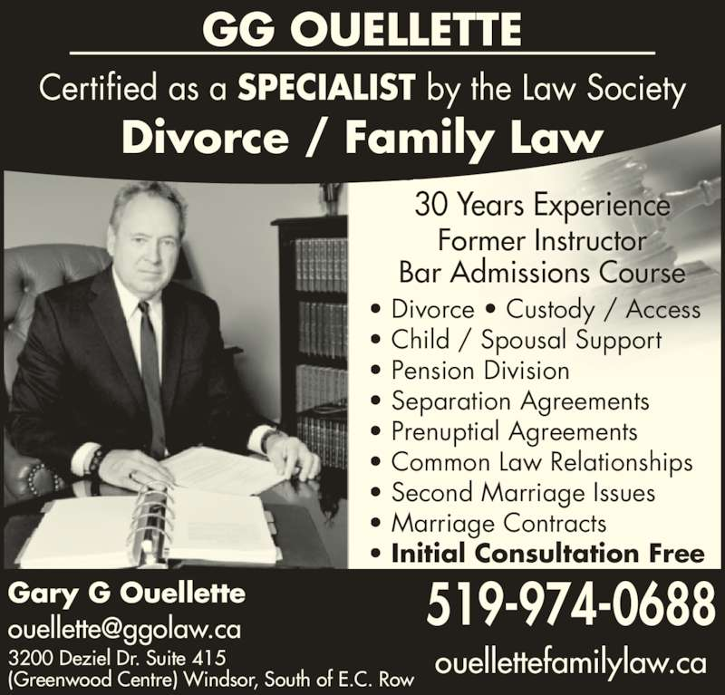 common law relationship and spousal support ontario
