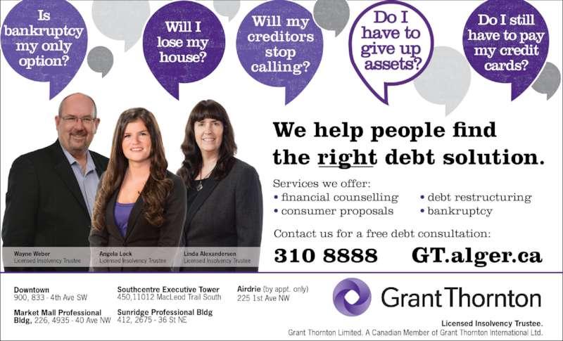 Grant Thornton Limited (403-260-2500) - Display Ad -
