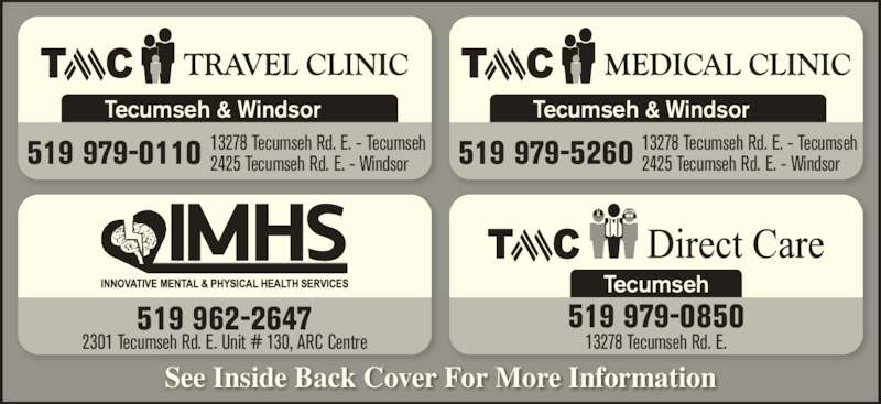 Ads Tecumseh Community Health Care Centre