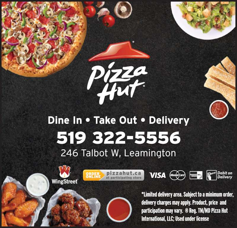 Pizza Hut (519-322-5556) - Display Ad -