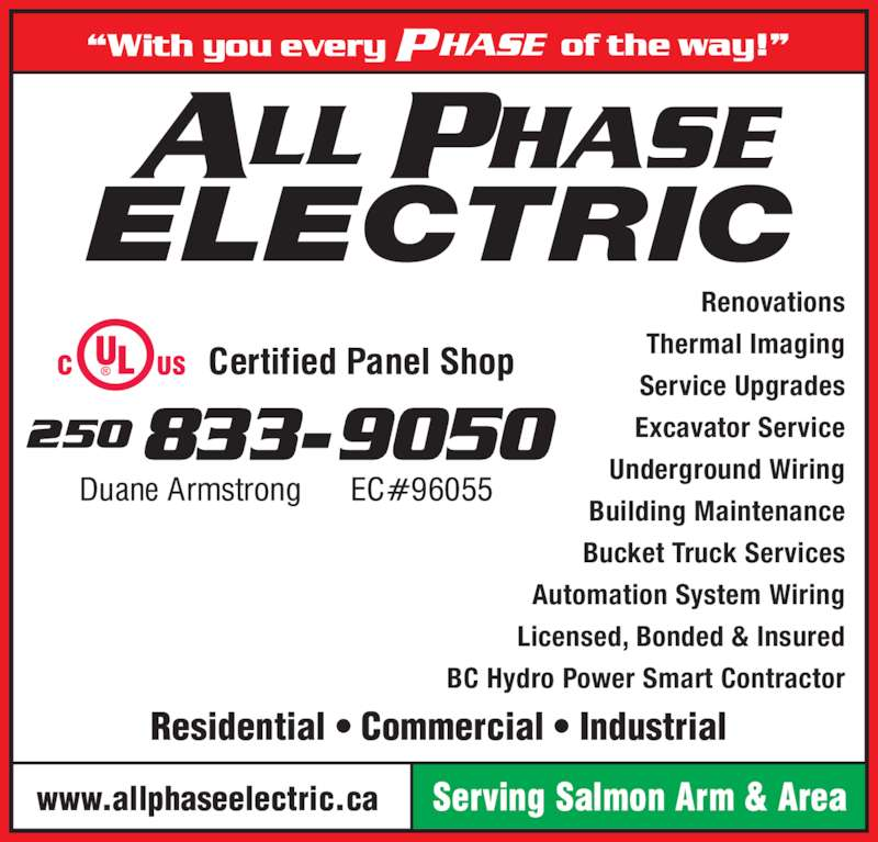 All Phase Electric Ltd Opening Hours 1690 20 Ave Se