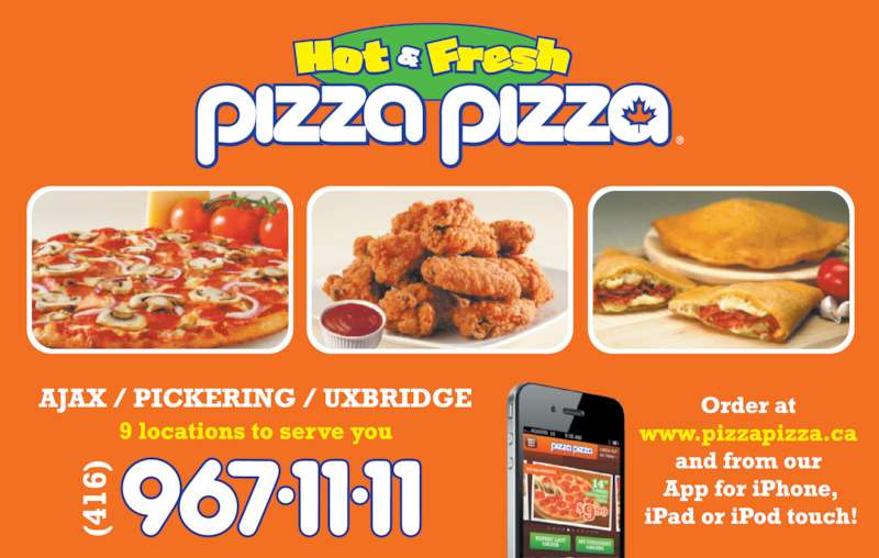 Pizza Pizza (416-967-1111) - Display Ad -