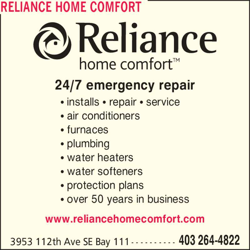 Cancel reliance home comfort plan