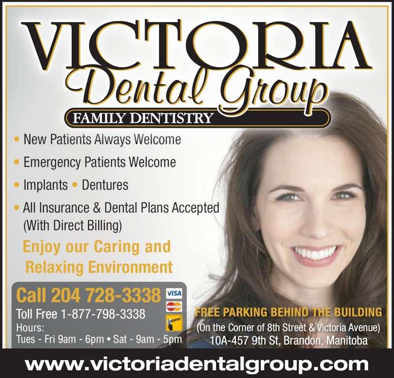 Victoria Dental Group Brandon Mb 10a 457 9th St