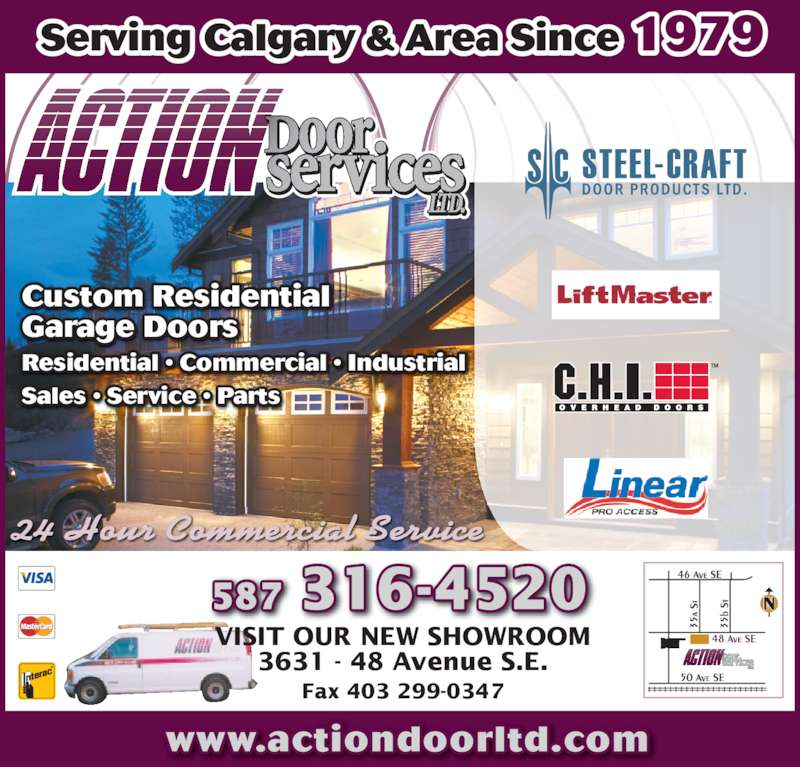 Action Door Services Ltd Opening Hours 3631 48 Ave Se