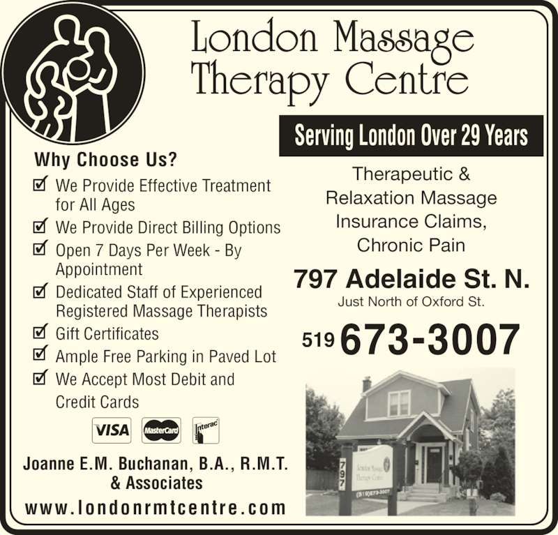 Massage Therapy writing about us for a company
