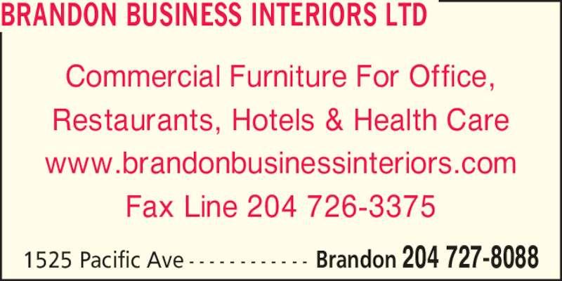 Brandon Business Interiors Ltd