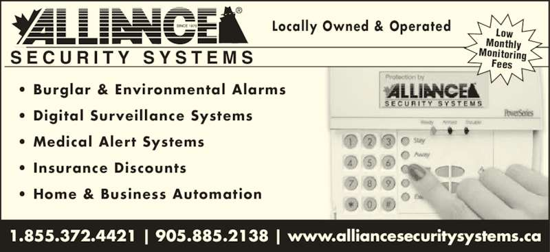 Alliance Security Systems Of Northumberland Opening