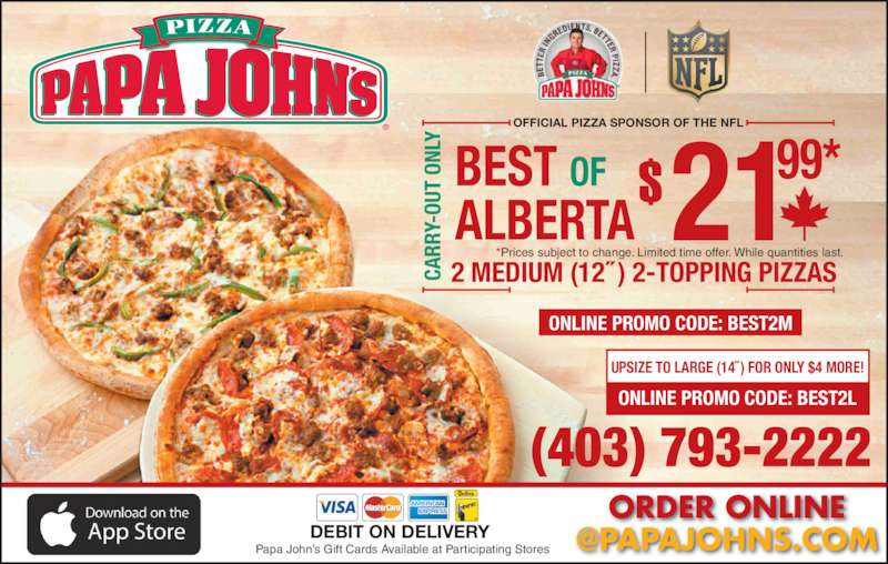 By enrolling in the Papa Rewards programs, customers can enjoy great savings on their favorite pizza delivery. These pizza rewards and savings can be redeemed after collecting a minimum amount of points. Papa John's also sometimes offers online coupons that .