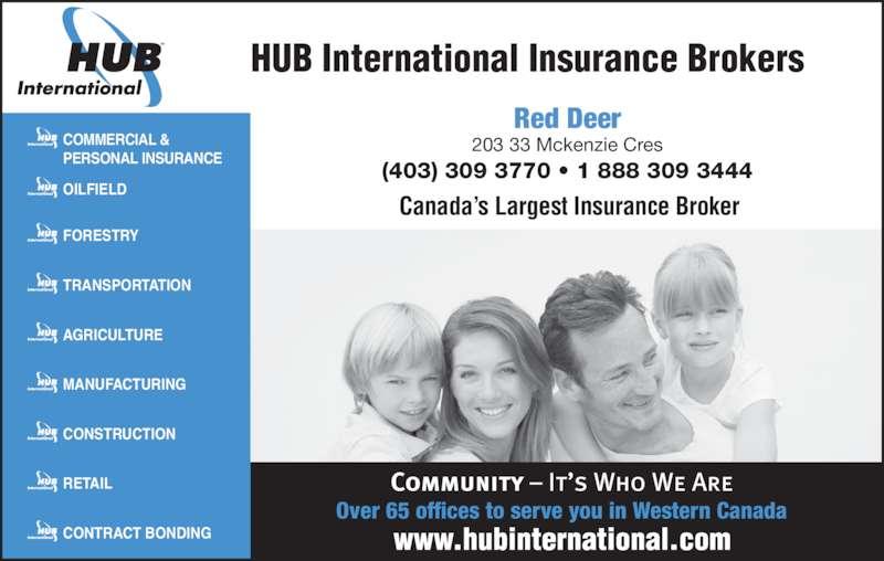 Hub international insurance brokers vancouver