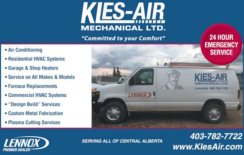 Garage Air Conditioner Service : Kles air mechanical ltd opening hours a st