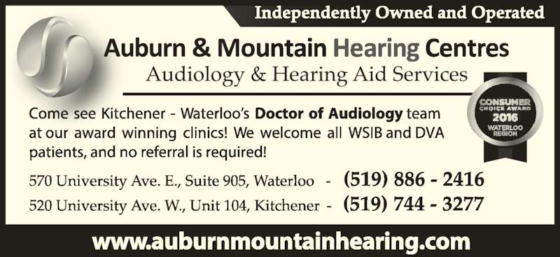 Ear Wax Removal Kitchener Waterloo