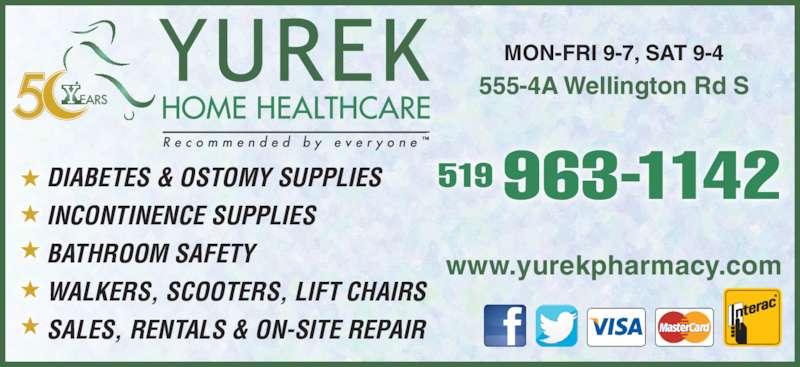 Yurek Home Health Care London