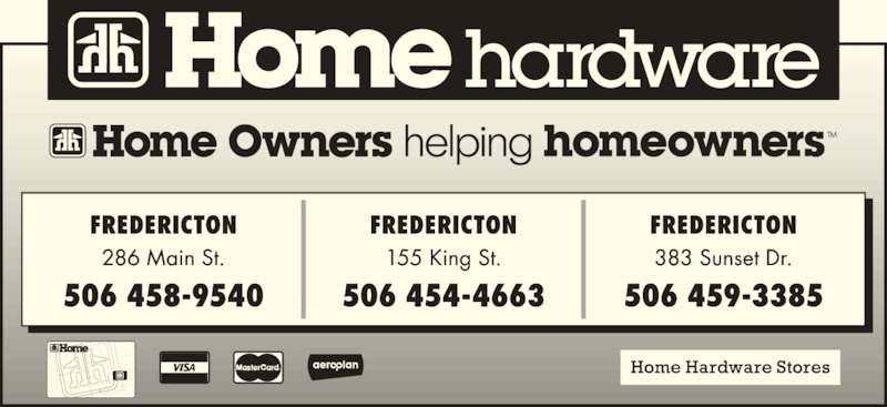 Building Supplies In Fredericton Nb