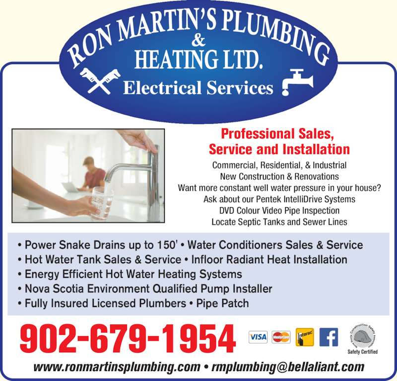 Ron martin 39 s plumbing heating electrical opening hours for Energy efficient hot water systems