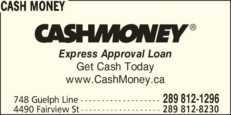 how to get cash today